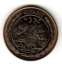 5 Dollar Jungferninseln 2009 grünes Titan Laufen Olympia