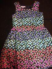 Bluezoo at Debenhams Girl's Multi Colour Floral Dress Age 6 Excellent Condition