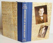 no box MEMOIRS OF A BRITISH AGENT Folio Society 2003 Lockhart WW1 spy Russia