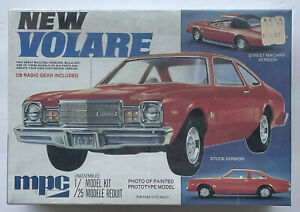 New Volare Kit w/ 2 Building Styles 1/25 MPC 1-7711