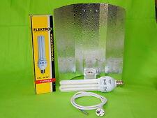 Elektrox Set 85 W Flower Blüte Energiesparlampe + Reflektor + Kabel ESL 2700K 4U