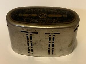 Antique Vintage Branch Bank - VERNAL UTAH -  No Key