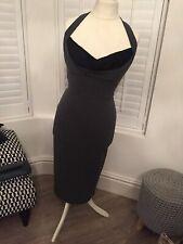 Stop Staring Dress L Stretch Retro Vintage Gorgeous