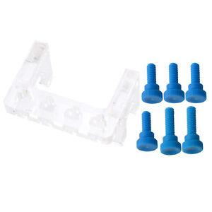 Acrylic Soft Tube Holder Aquarium Rack Clamp Bracket Fixture Holder PC Soft Hose