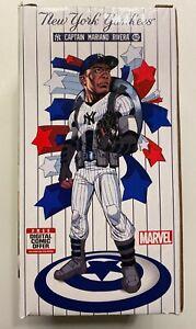 Mariano Rivera New York Yankees Marvel Captain America Bobblehead SGA 7/12/2019