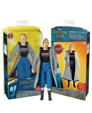 "Dr Who 10"" Action Figure + Sonic  13th Doctor Jodie  Whittaker Brand New Sealed"