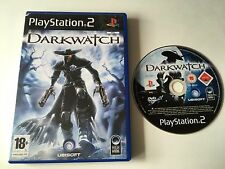 Darkwatch for PlayStation 2, 2005 PS2 Game No Ins - Gunslinger Outlaw Vampire