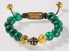 Shamballa gold grün Armband grüne Perlen Lilie Nick Jordan Schmuck Neu OVP
