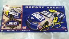 NASCAR sign #48 LOWE'S COLLECTIBLE