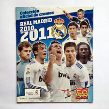 REAL MADRID CLUB FUTBOL 2010 2011 ALBUM PANINI COLECCION OFICIAL CROMOS LICENCIA