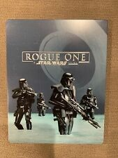 Rogue One A Star Wars Story Best Buy Steelbook Blu-Ray/DVD (NO 3D)