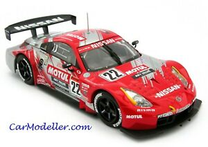 Ebbro Nissan Motul Pitwork Z Japan GT Championship #22 2004 1:43 scale #43607