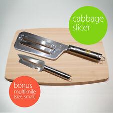 Kitchen Knife Slicer Cabbage chopper Shredder Sauerkraut Cutter Coleslaw Grater