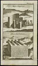 1763 - Murs des gaulois (murus gallicus) et Muri Vegetiani