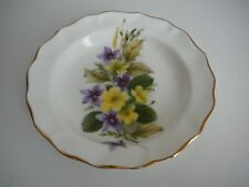 Duchess China Pin Butter Dish Scallop edge Flowers Pretty
