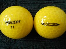 "3 PRECEPT  ""XP3"" - ""YELLOW PEARLISED"" -Golf  Balls- ""MINT/PEARL""Grades."