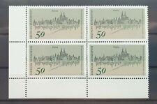 Bund 1975 ** Mi 863 Denkmalschutz Eckrandviererblock 4er Ecke unten links (294)