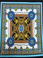 2 yards stretch spandex lycra ity fabric beautiful royal panels print