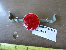 Schwinn Solo Polo 1963-1964 Standard Reflector Bracket and 6 Pie Reflector*NOS*