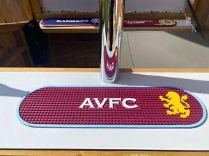 Aston Villa Bar Runner - Home Bar/Man Cave