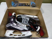 BAUER VAPOR 1X MENS SENIOR ICE HOCKEY SKATES SIZE 9EE