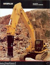 Equipment Brochure - Caterpillar - Balderson Hydraulic Hammer - 1996 (E1764)