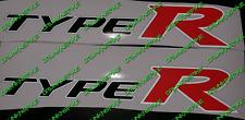 Reflective Honda Civic Type R FN2 FK2 FK8 K20 VTEC x2 Panneau Latéral Jupe stickers