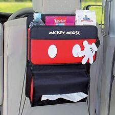 DISNEY Mickey Mouse Car Seat Back Organizer Holder Storage Hanging Bag