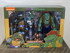 NECA TMNT TEENAGE MUTANT NINJA TURTLES SLASH LEATHERHEAD 2 PACK TARGET EXCLUSIVE