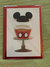 Papyrus Mickey Mouse Happy Birthday card