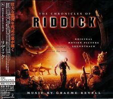 "Graeme Revell ""The Chronicles Of Riddick"" soundtrack score Japan Cd Sealed"