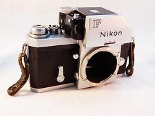 Nikon F Photomic FTN SLR Film Camera Body Chrome ~ Teriffic!!