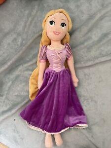 "Disney Store 21"" Rapunzel, Tangled, Purple Dress, Princess Soft Toy Plush Doll#3"