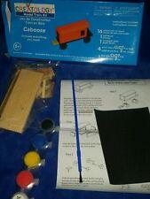 Creatology Wood Model Train Kit - Caboose