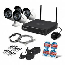 Swann NVW-485 1TB 4x 1080p WiFi Monitoring System CCTV Kit IP Wireless Cameras