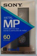 VIDEO CASSETTA VERGINE SONY P5-60MP 8mm Video8 60 MINUTI NUOVA
