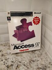 NEW Vintage Microsoft Access 97 Database Management System Upgrade  1997