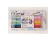 Monami Live Color DIY Pen Special Set, 18 color 9 body 3 type nib