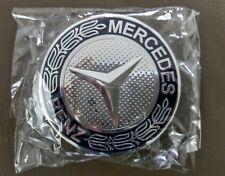 Mercedes Benz Wheel Rim 75mm Chrome Centre cap AMG A B C E S ML GL