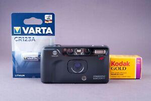 Minolta Freedom Escort 35mm Point & Shoot Film Camera Tested