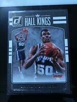 2016-17 Donruss Optic Hall Kings Spurs Basketball Card #14 David Robinson Rare
