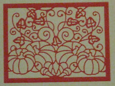 "CHEERY LYNN DIE  FRM122 ""FALL HARVEST 2"" FOR CARDS AND SCRAPBOOK PROJECTS"