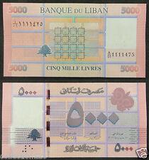 Lebanon 5000 Livres BANKNOTE 2013 UNC