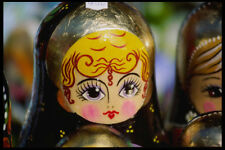 248062 Close up Of Russian Nesting Doll A4 Photo Print