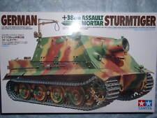 Tamiya 1/35 German Sturmtiger Assault Mortar Model Tank Kit #35177