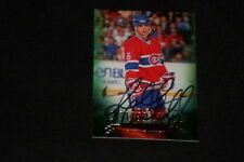 RUSS COURTNALL 2011 UD PARKHURST CHAMPIONS SIGNED AUTOGRAPHED CARD #82 CANADIENS