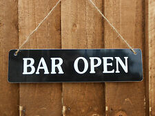 BBQ GARDEN PARTY PUB HOME BAR VALENTINES DAY GIFT OPEN / LAST ORDERS SIGN