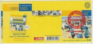Stamps Australia 2005 Rotary booklet Illawarra Philatelic Society overprint nice