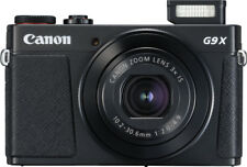 Canon - PowerShot G9 X Mark II 20.1-Megapixel Digital Camera - Black