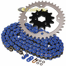 Blue O-Ring Drive Chain & Sprocket Kit Fits YAMAHA RAPTOR 350 YFM350 2004-2013